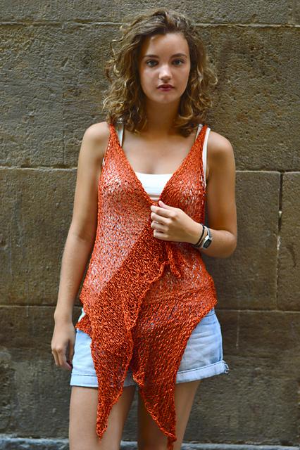 summer vest knitting pattern