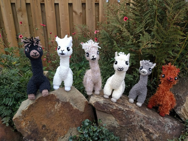 alpaca toy knitting pattern
