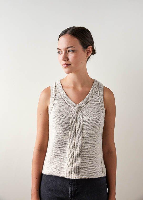 criss cross top knitting pattern