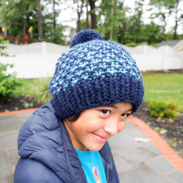 mixtape beanie knitting pattern