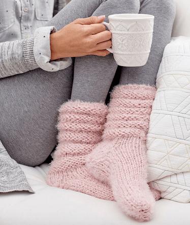 slouchy sock knitting pattern