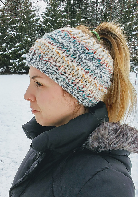 earwarmer hat knitting pattern