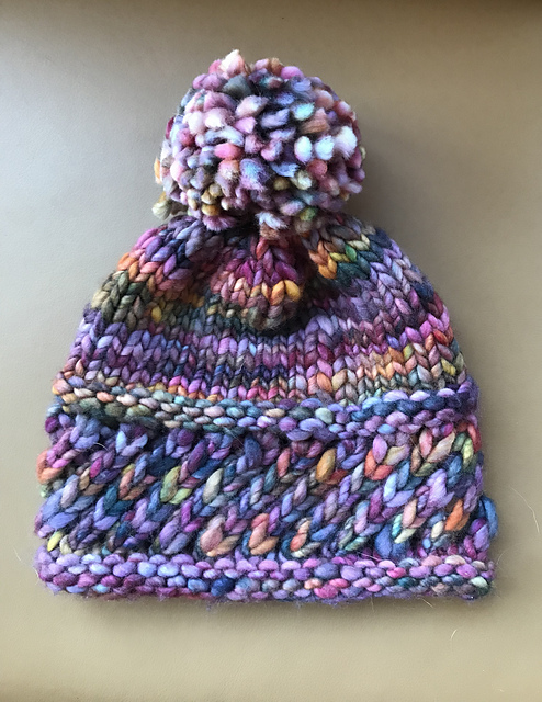 perky hat knitting pattern