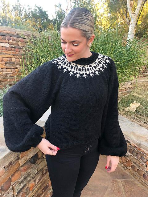 rbg knit sweater