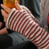 Use Up Your Stash Knitting Cute Hand Warmers