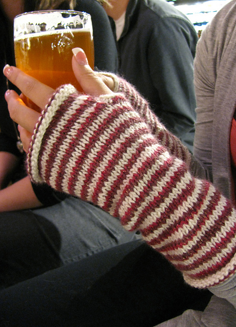peppermint patties fingerless gloves