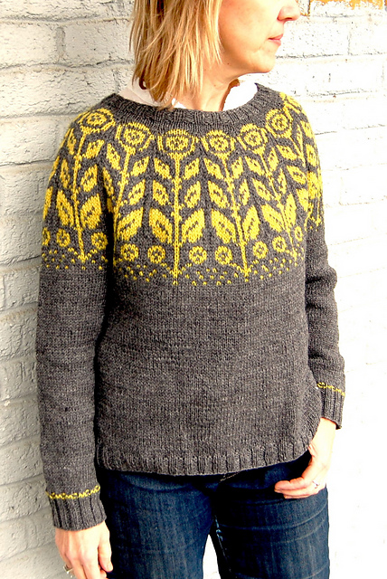 maryanna colorwork sweater