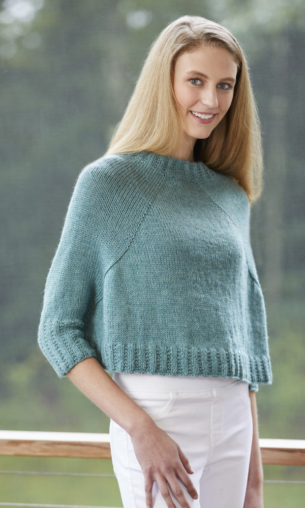 aster swancho sweater poncho