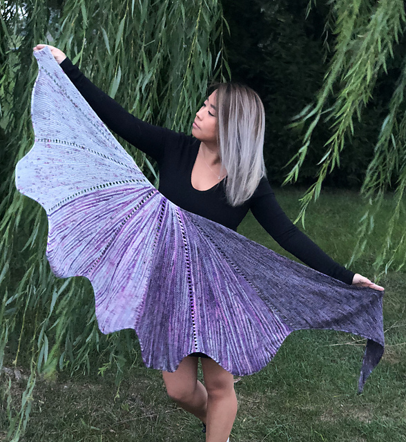 lunar revel shawl
