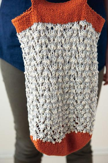 Knit a Market Bag for Earth Day