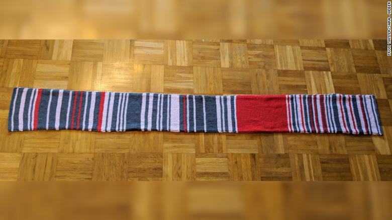train delay scarf