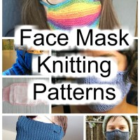Surgical Face Mask Knitting Patterns