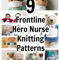 9  Frontline Hero Nurse Knitting Patterns