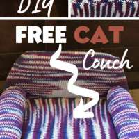 Free Cat Couch Knitting Pattern