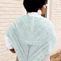Knit a Francy Shawl for Fall