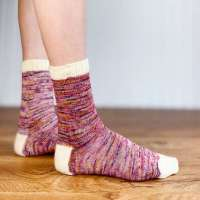This Free Sock Knitting Pattern is a Great Intro to Magic Loop