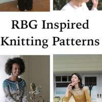 Honoring Ruth Bader Ginsburg in Knitting