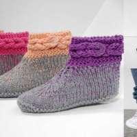 Knitting Pattern – Vroni Slippers