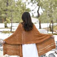 Knit a Giant Textured Wrap