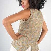 Knit a Simple Tank Top with a Fun Twist