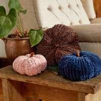 Velvet Pumpkin Knitting Pattern