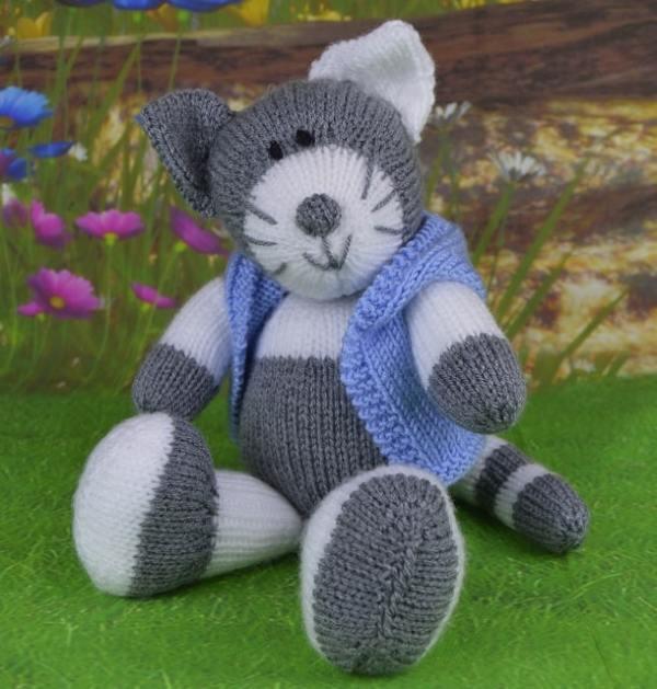free cat knitting patterns # 51