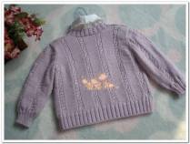 Knitted baby and child sweater patterns (233)