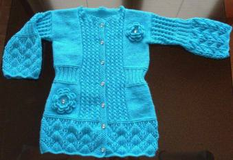 Knitted baby and child sweater patterns (245)