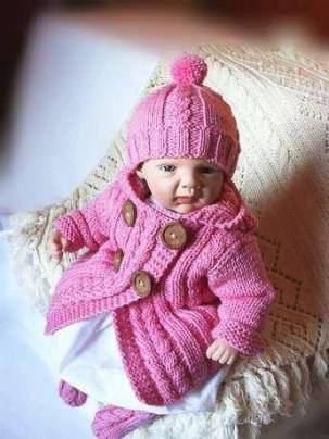 Knitted baby and child sweater patterns (251)