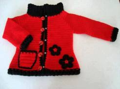 Knitted baby and child sweater patterns (271)