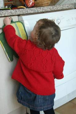 Knitted baby and child sweater patterns (274)