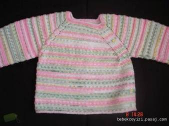 Knitted baby and child sweater patterns (277)