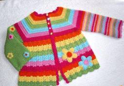 Knitted baby and child sweater patterns (281)