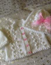 Knitted baby dress, vest, cardigan, sweater, overalls patterns (107)