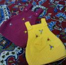 Knitted baby dress, vest, cardigan, sweater, overalls patterns (157)