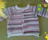 Knitted baby dress, vest, cardigan, sweater, overalls patterns (236)