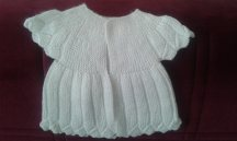 Knitted baby dress, vest, cardigan, sweater, overalls patterns (237)