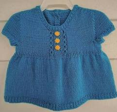 Knitted baby dress, vest, cardigan, sweater, overalls patterns (242)