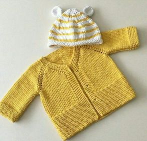 Knitted baby dress, vest, cardigan, sweater, overalls patterns (268)