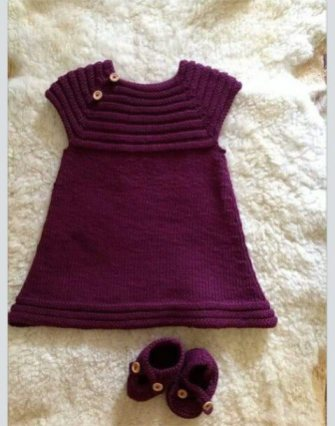 Knitted baby dress, vest, cardigan, sweater, overalls patterns (713)