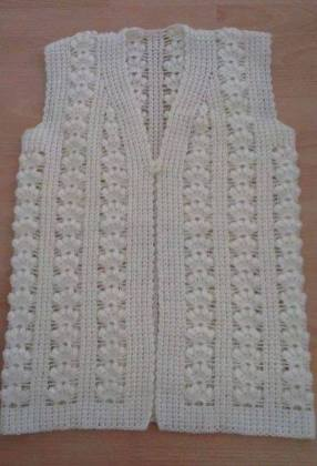 Knitted baby dress, vest, cardigan, sweater, overalls patterns (749)