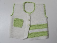 Knitted baby sweater, vest patterns (16)