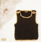 Knitted baby sweater, vest patterns (24)