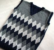 Knitted baby sweater, vest patterns (51)