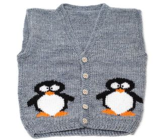 Knitted baby sweater, vest patterns (84)