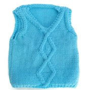 Knitted baby sweater, vest patterns (93)