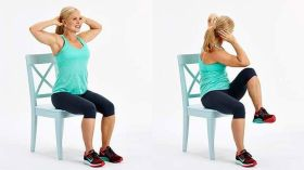 Chair Workout - Quick Chair Exercises (121)