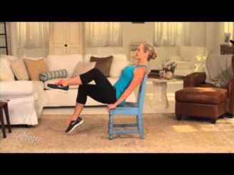 Chair Workout - Quick Chair Exercises (147)