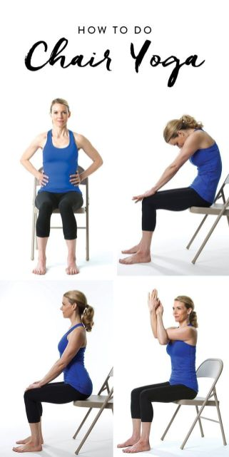 Chair Workout - Quick Chair Exercises (154)