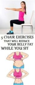 Chair Workout - Quick Chair Exercises (156)